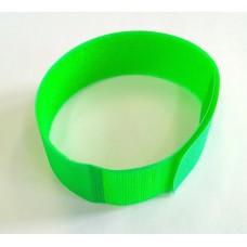 Jelölő tépőzáras lábcsat zöld