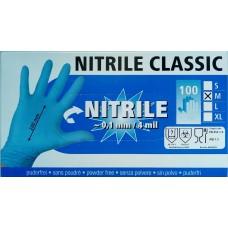 Fejőkesztyű nitril M (100db)