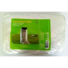 PVC lábzsák átlátszó (100db)