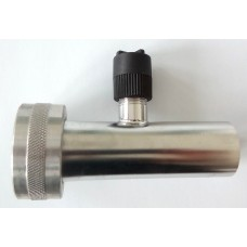 Tejszivattyú egyenes csatlakozó 25mm