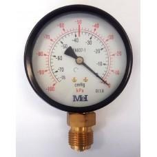 Vákuummérő óra 80mm