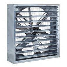 Fémházas zsalus ventilátor 140x140cm 1,1kW/3F